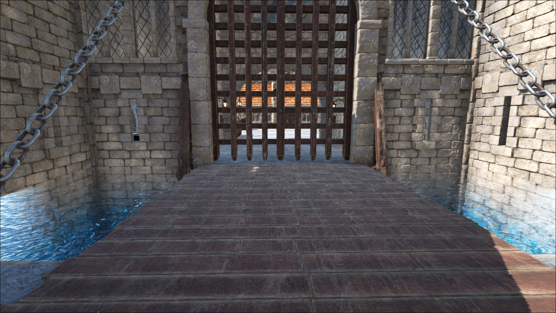 The main portcullis, can I come in?