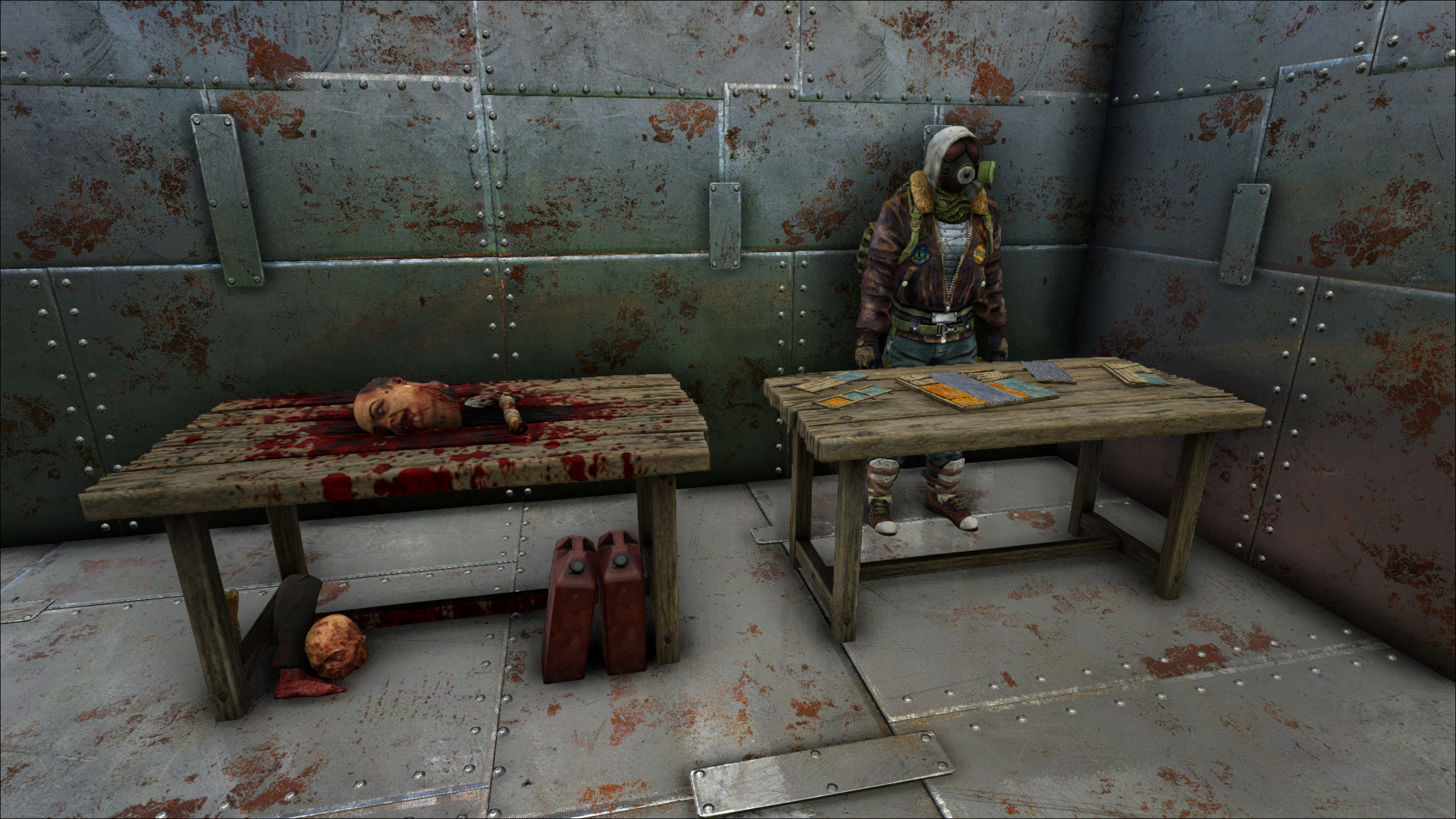 Dead survival tables in the WNG base.