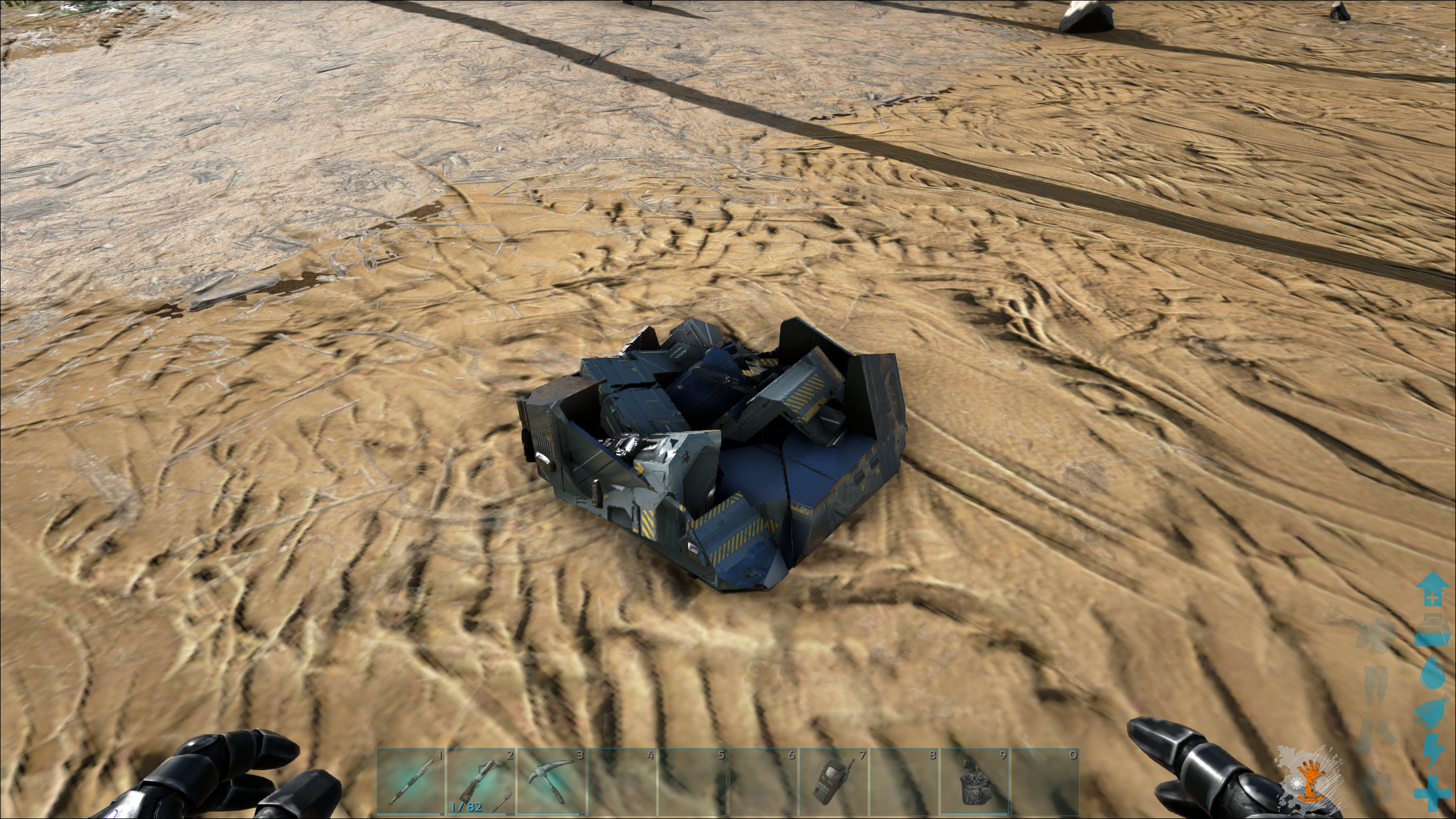Someone took all the loot from my Supply Crate
