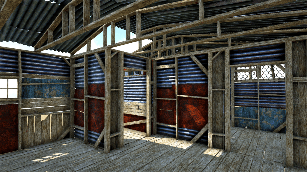 A tour of the Shanty Prefab house in Dead Survival