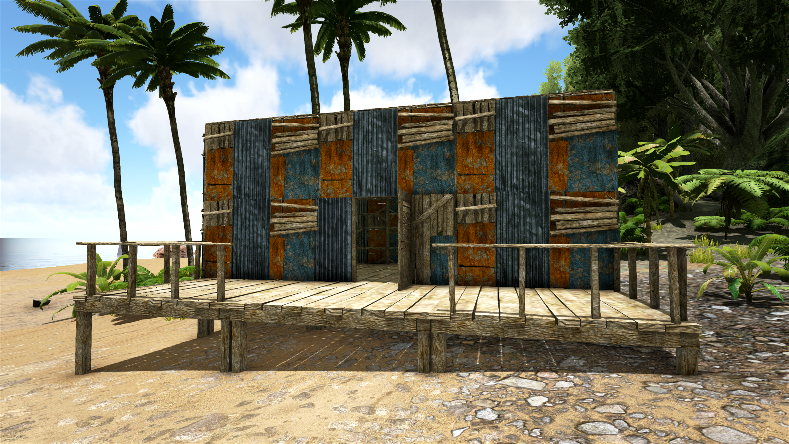 A custom built house out of Shanty materials