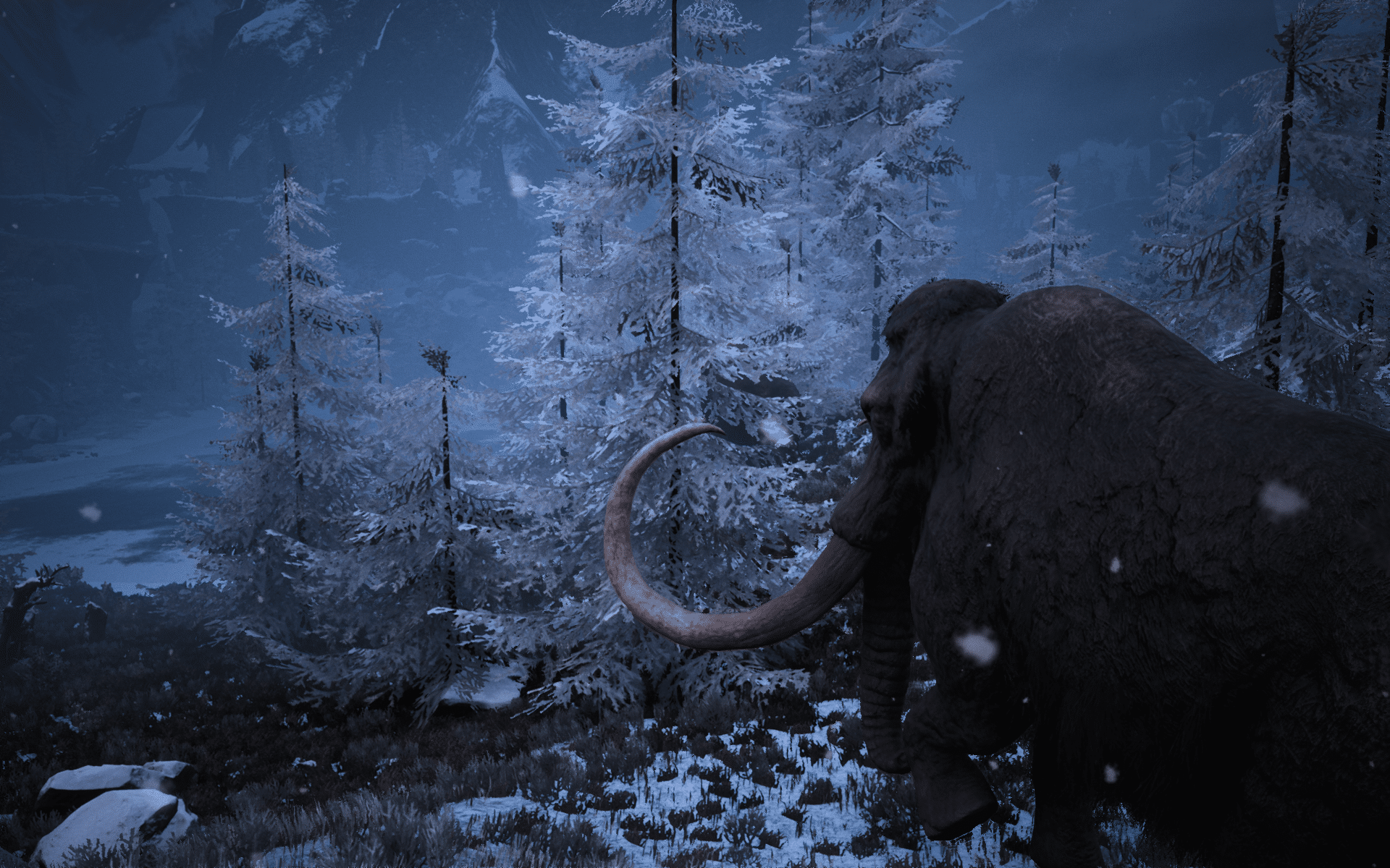 A Woolly Mammoth