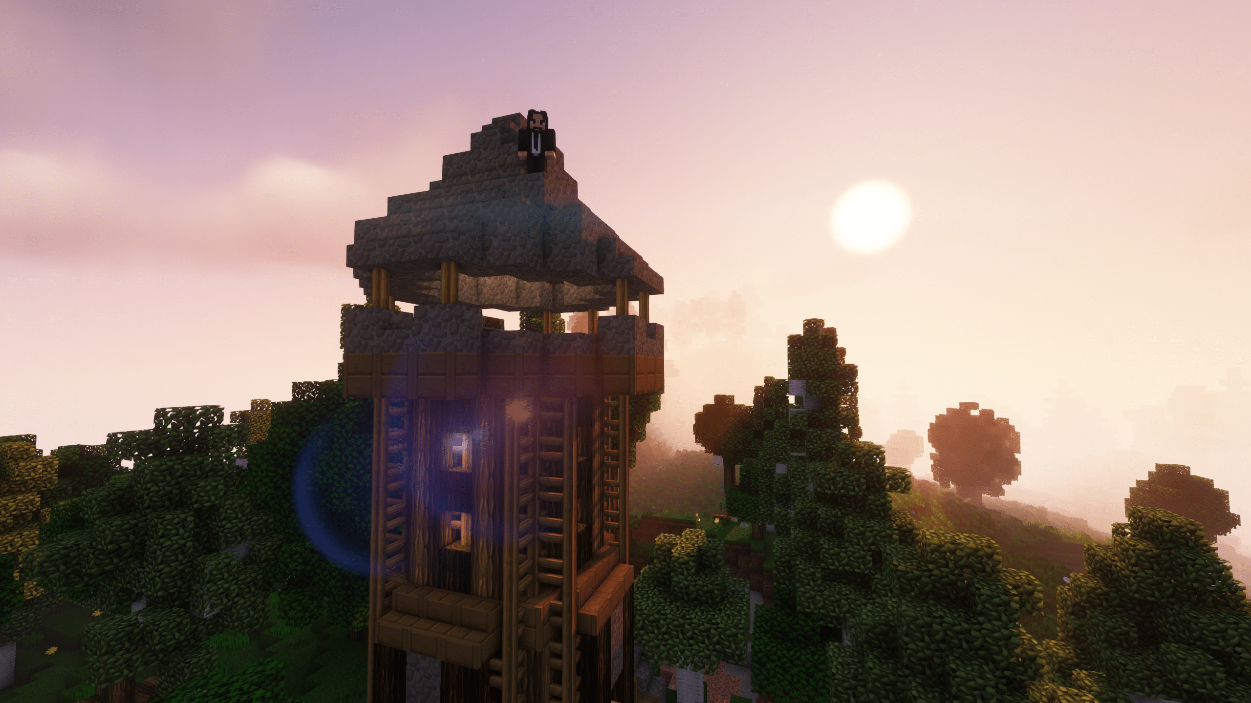 Minecraft Enigmatica 2: The Village Tower
