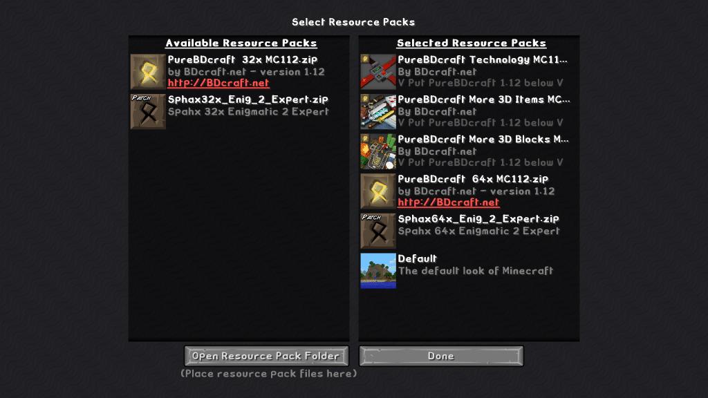 Minecraft Enigmatica 2 Resource Packs