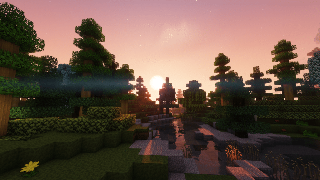 Minecraft Enigmatica 2: Sunrise in The Forest