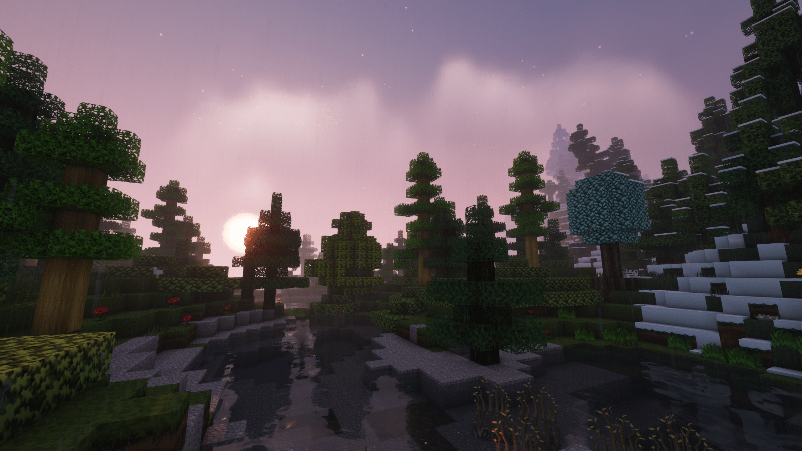Minecraft Enigmatica 2: Sunrise in The Mountains