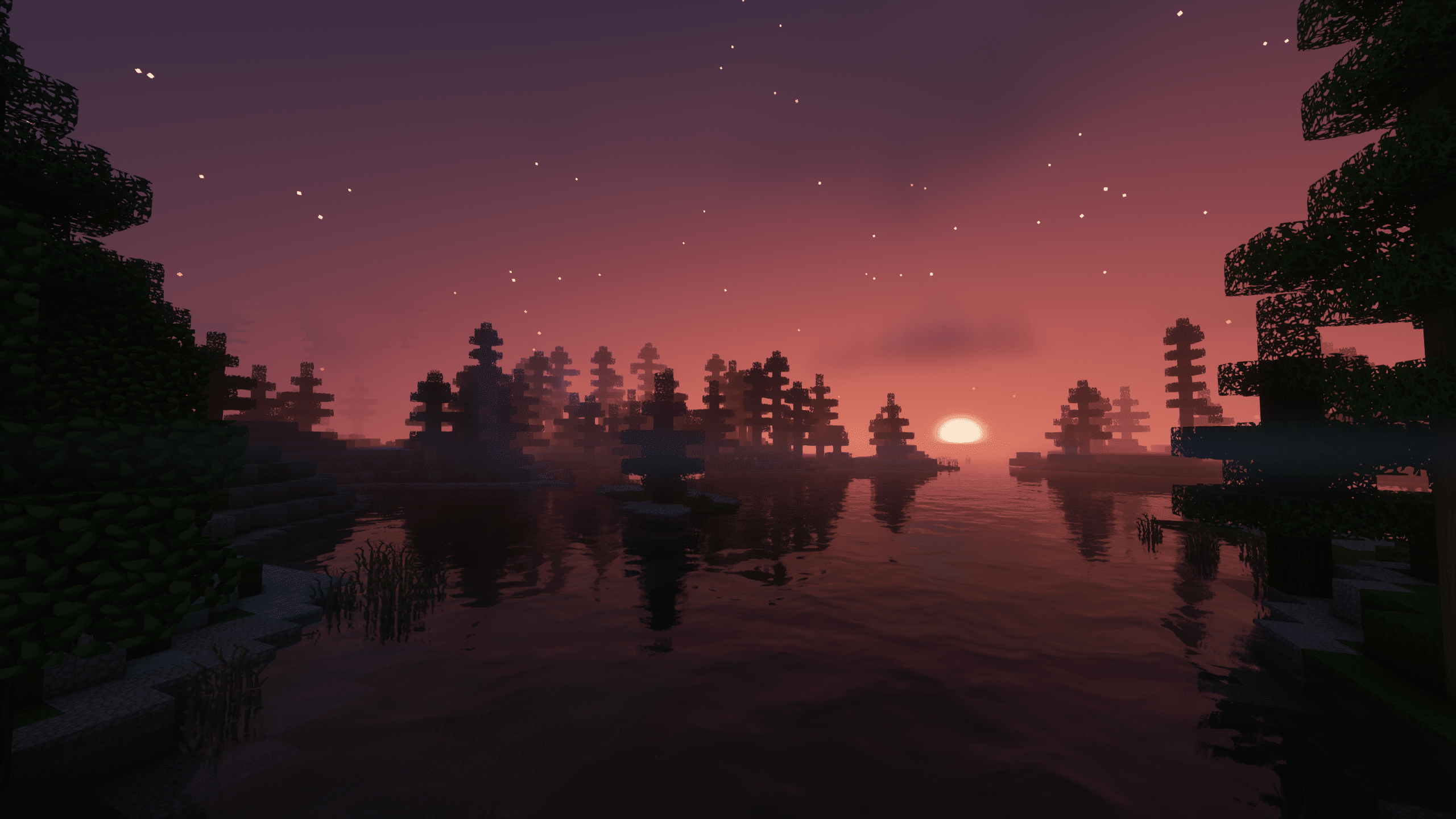 Minecraft Enigmatica 2: Sunset Over The Great Lake