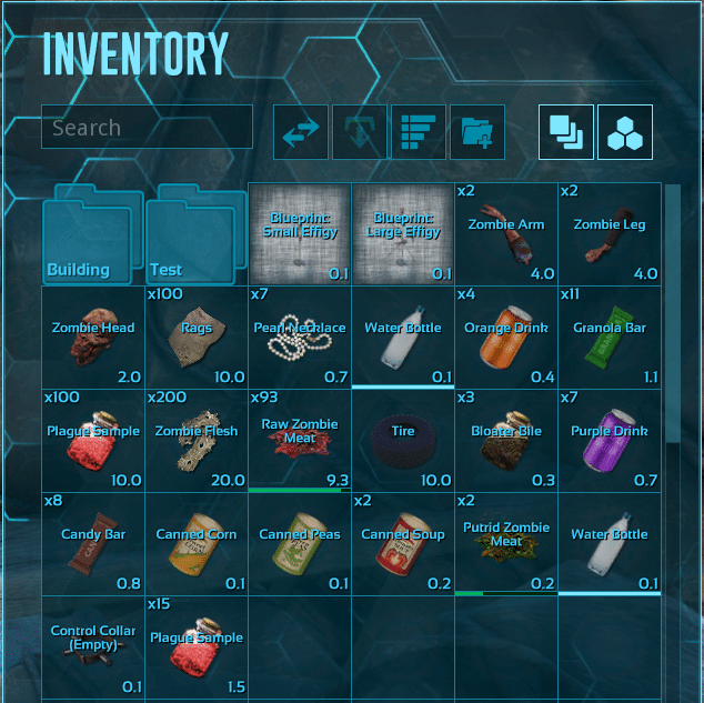 Dead Survival Crafting Items