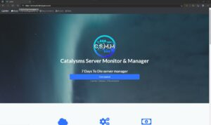 CSMM Server Manager log in with steam